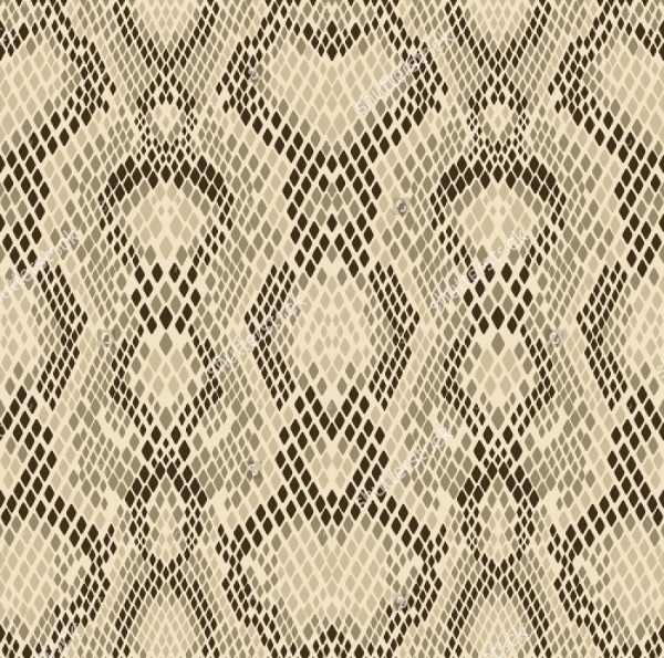 Snake Skin Pattern Light