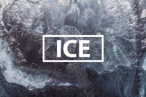 15 Textures of Snowflakes