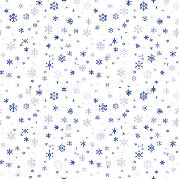Snowflake Vector Texture