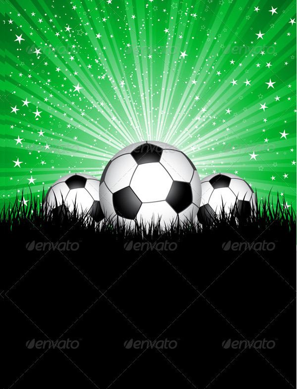 Soccer Ball Football Background