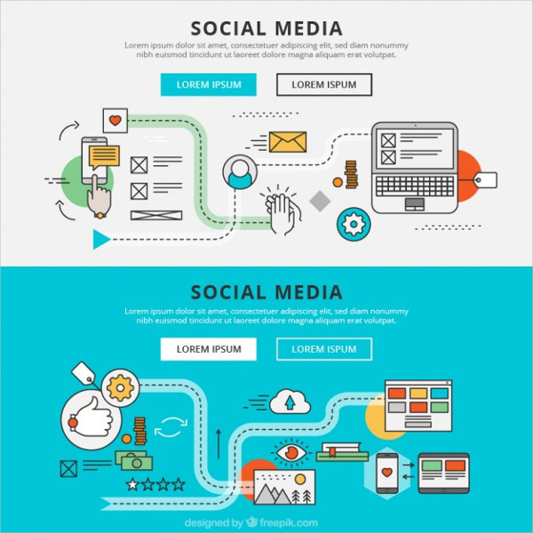 Social Media Graphic Banners Free