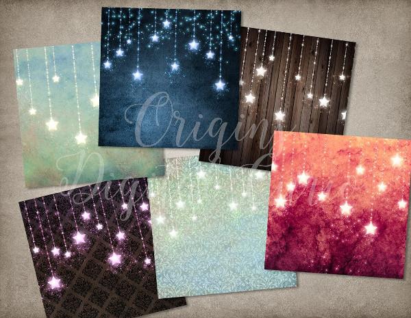 Sparkling Stars Backgrounds