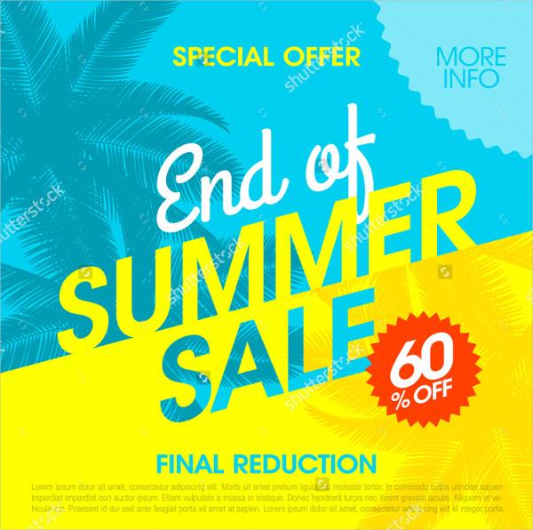 Special Summer Sale Banner Design