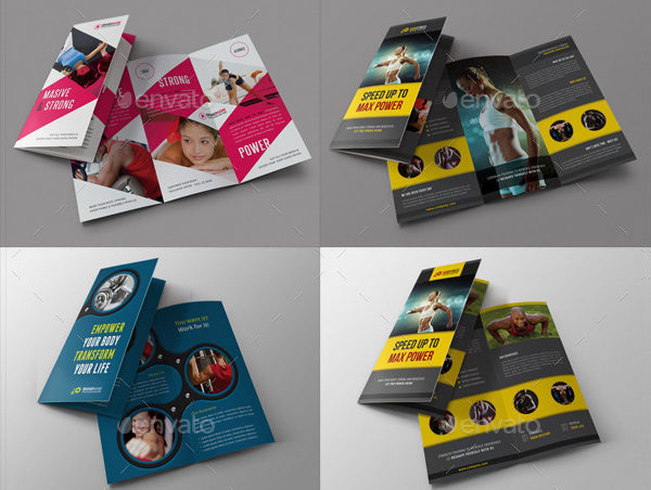Sport Activity Brochures Bundle