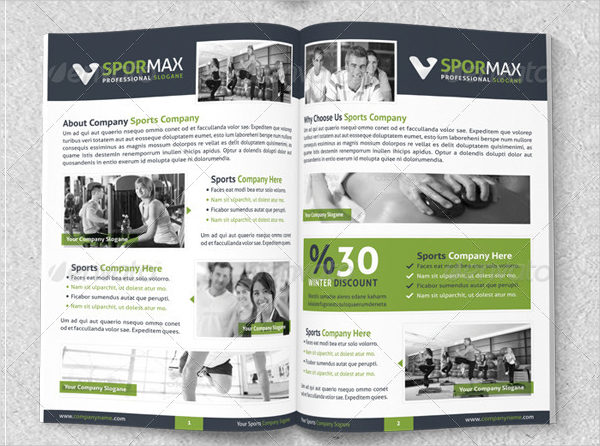 Sports Business Brochure Template