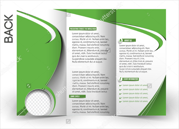 Sports Tennis Competition Brochure Design