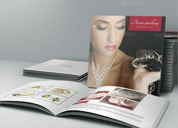 Square Bi- Fold Jewelry Brochure