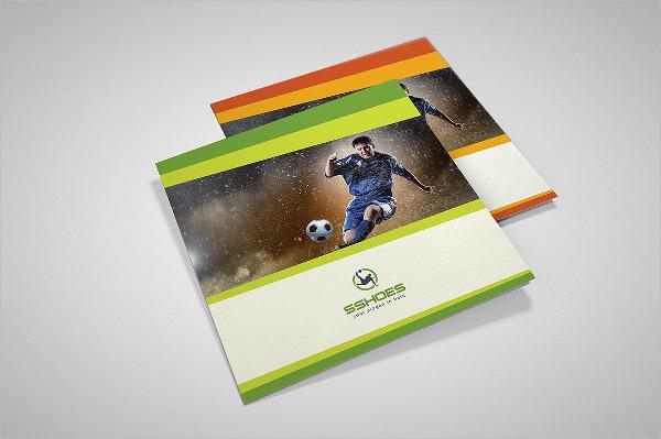 Square Sport Trifold Brochure