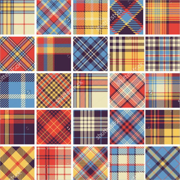 Big Set of Tartan Patterns