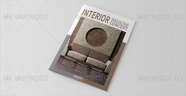 Stylish Interior Magazine Templates