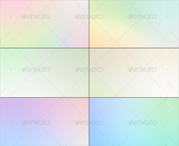 Subtle Gradient Background Set