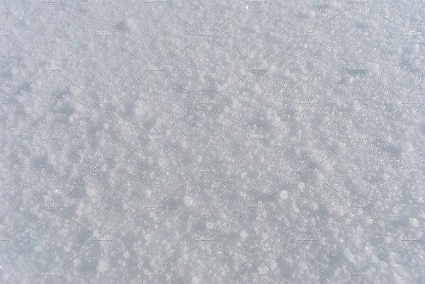 Natural Snowflake Texture