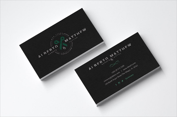 Tattoo Salon Business Card Template