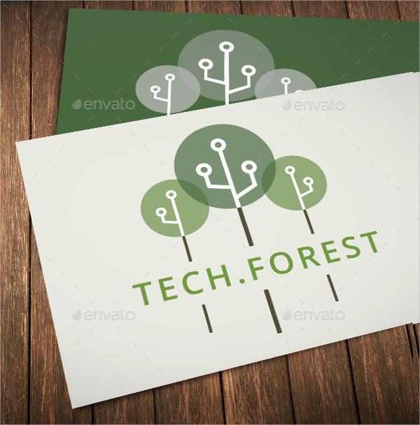 Tech Forest Logos