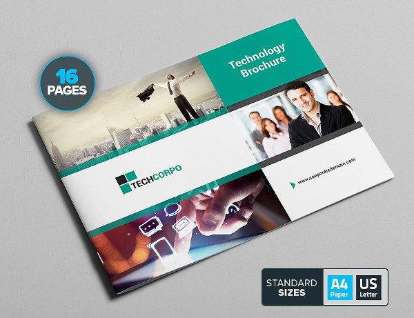 Technology Corporate Brochure Template