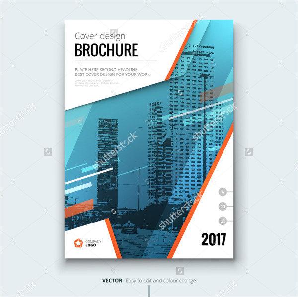 Technology Vector Brochure Template