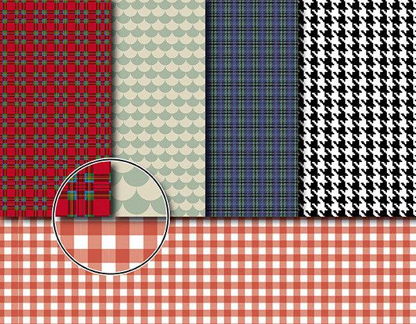 Textile Decorative Patterns
