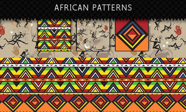 Ethnic Textile African Patterns