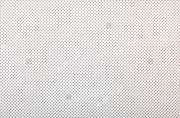 Perforated White Textile Pattern