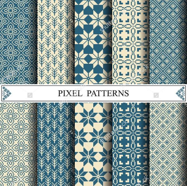 Textile Pixel Pattern