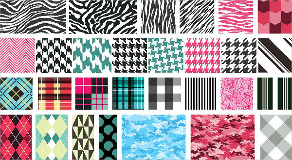 Textile Vector Patterns Pack