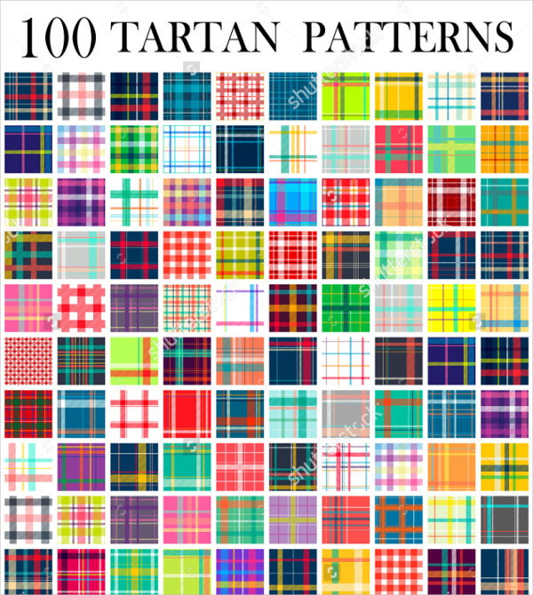 Texture Tartan Patterns
