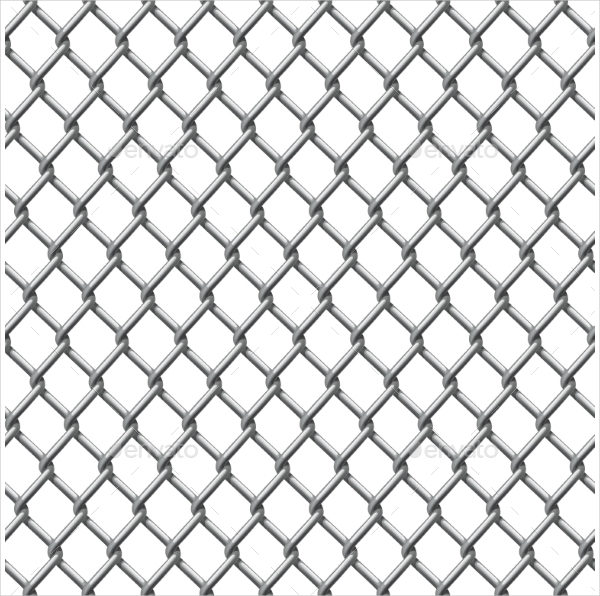 Tillable Chain Link Fence Pattern