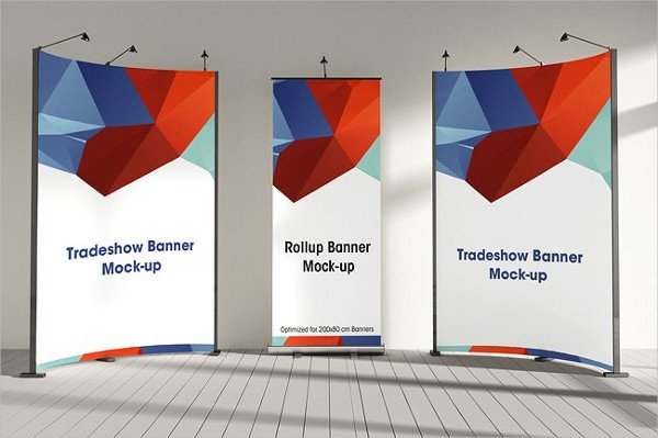 Trade-Show Business Booth Mock-Up