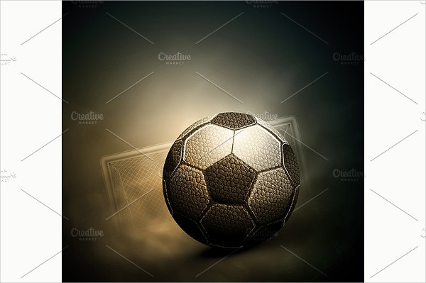 Traditional Soccer Background