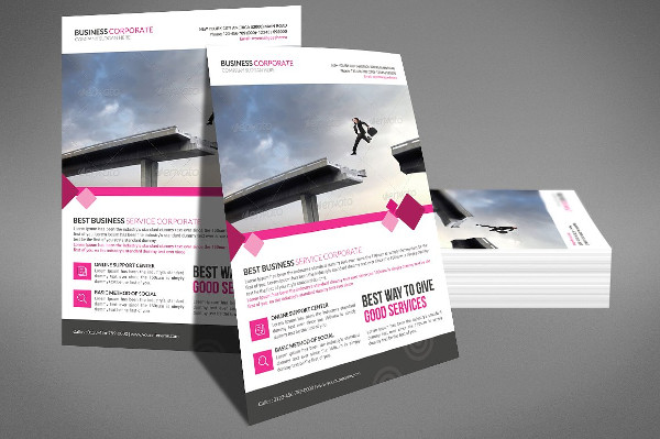 Transport Business Corporate PSD Flyer