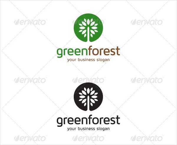 Green Forest Logos