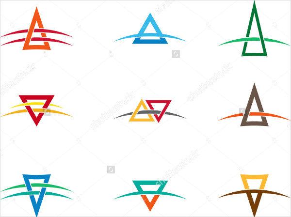 Triangle Vector Design Logos