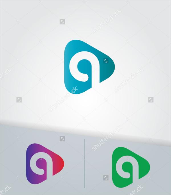 Triangle Editable Logo Template