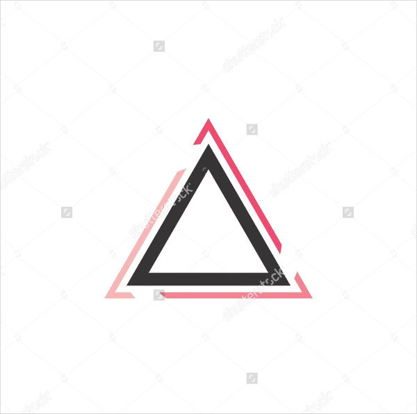 Modern Logo Template of Triangle