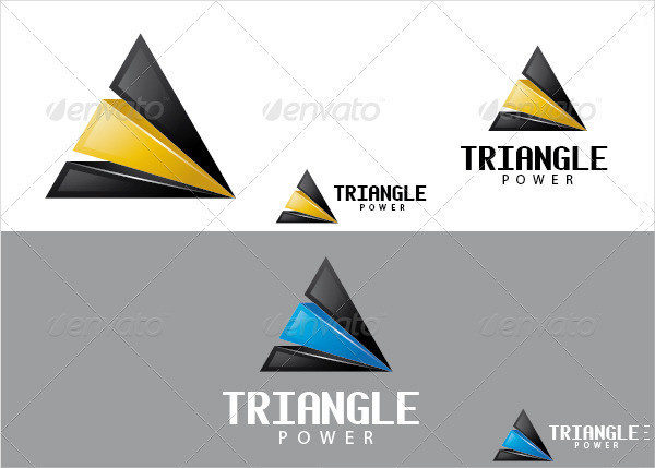 Triangle Power Logo Template