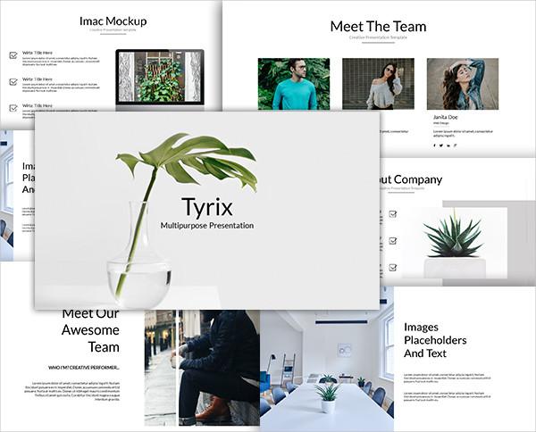 Tyrix Multipurpose Keynote Template