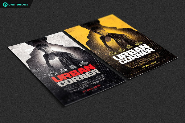 Urban Corner Flyer Template