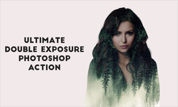 Ultimate Double Exposure Photoshop Action