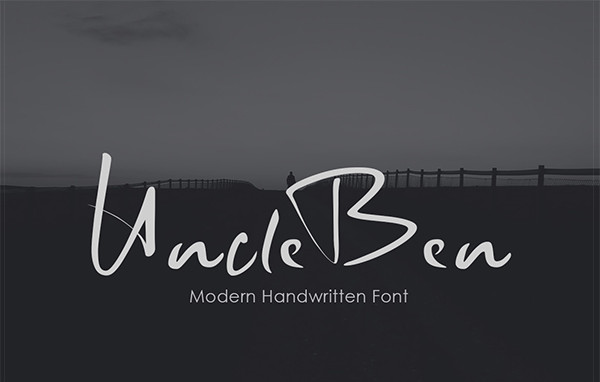 Uncle Ben Signature Font