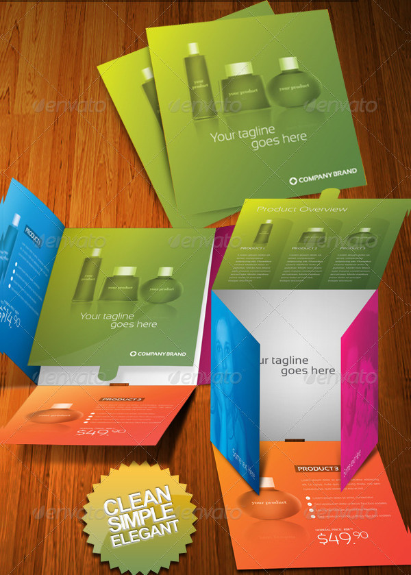 31 Product Brochure Templates Free Premium Download