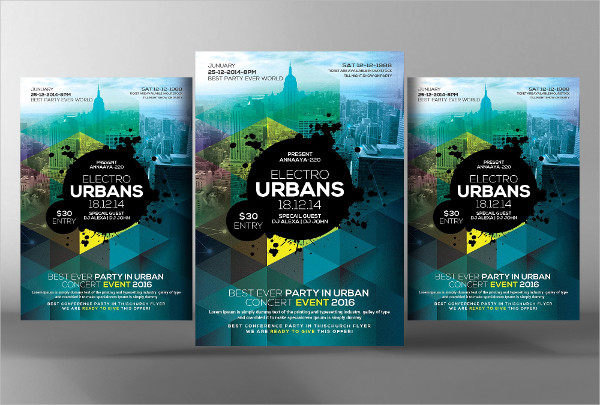 Urban City Flyer Template
