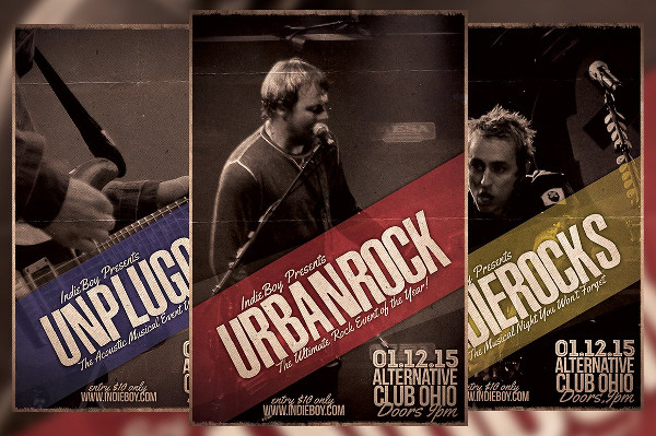 Urban Rock Flyer Template