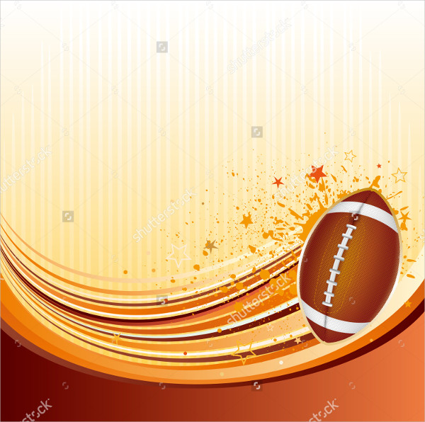 Vector Background American Football