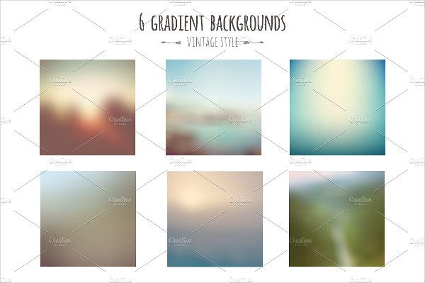 Gradient Vintage Style Backgrounds