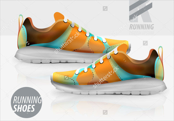 Vector Shoes Packaging Mockup
