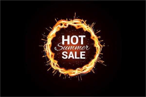Vector Summer Sale Banner