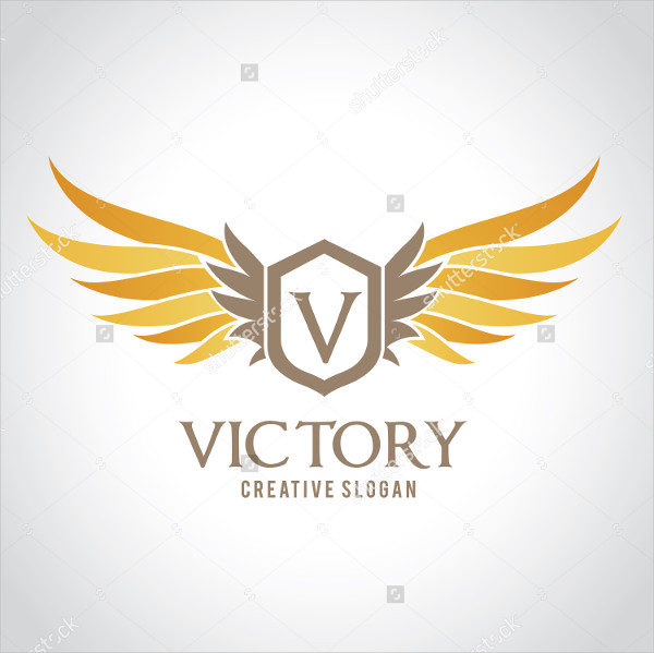 Victory Abstract Logo Template