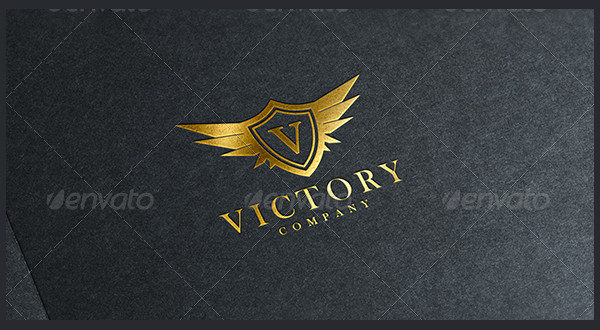 Fully Editable Victory Logo Template