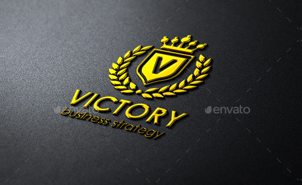 Victory Heraldic Elagant Logo