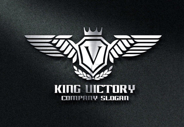 King Victory Logo Template